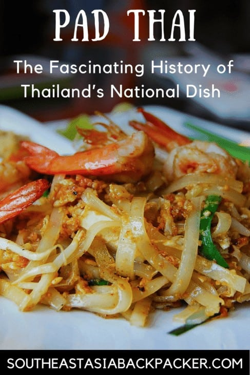 Pad Thai National Dish