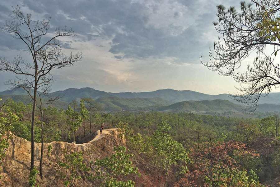 Pai Canyon, Thailand.