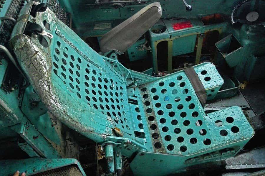 Pilot's-seat-aeroplane-graveyard,-Bangkok,-Thailand
