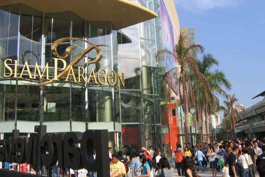 Siam Paragon Shopping Mall, Bangkok.