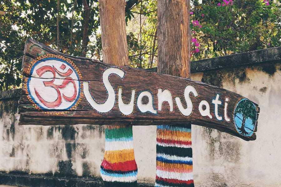 Mindfulness Garden - Suan Sati Yoga Retreat Chiang Mai Thailand.
