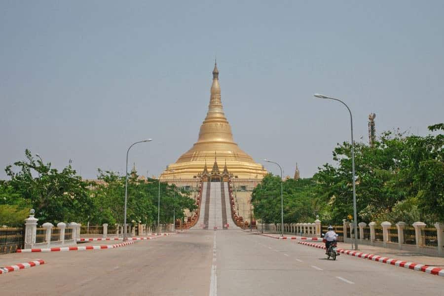 UppatasantiPagoda, Naypyidaw, Myanmar.