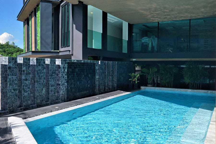 The swimming pool at Pause & Play Hotel, Chiang Mai