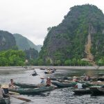 Tam Coc Village, Vietnam (Halong Bay on Land)