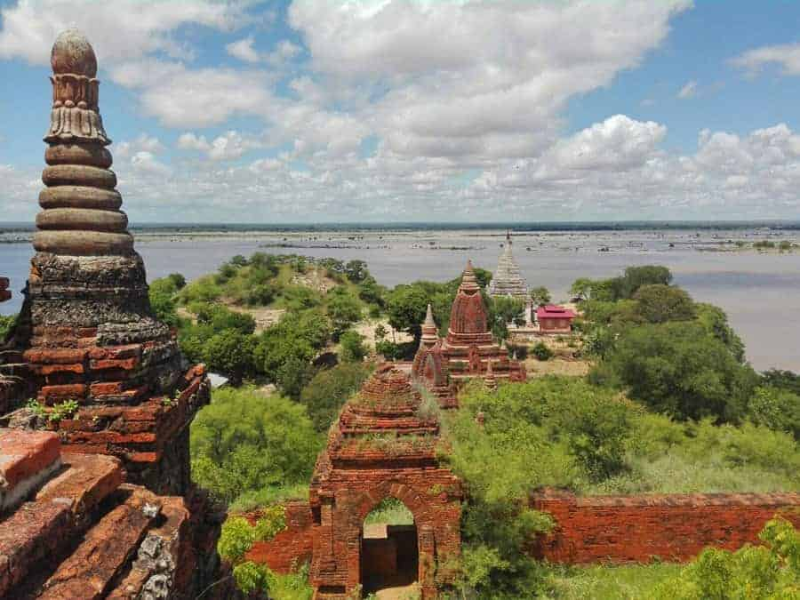 Thet Kya Mu Ni Temple, Bagan.