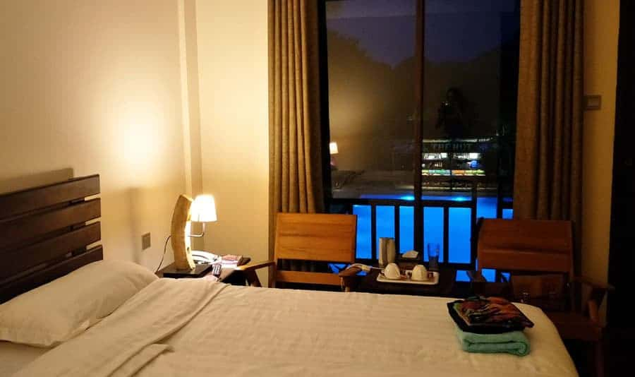 Myanmar Han Hotel Room, Bagan.
