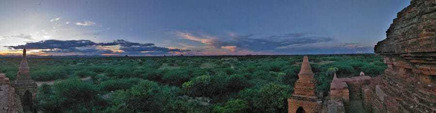 Sunset-Bagan-Panorama
