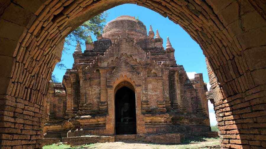 One of the many temples of Bagan, Myanmar.