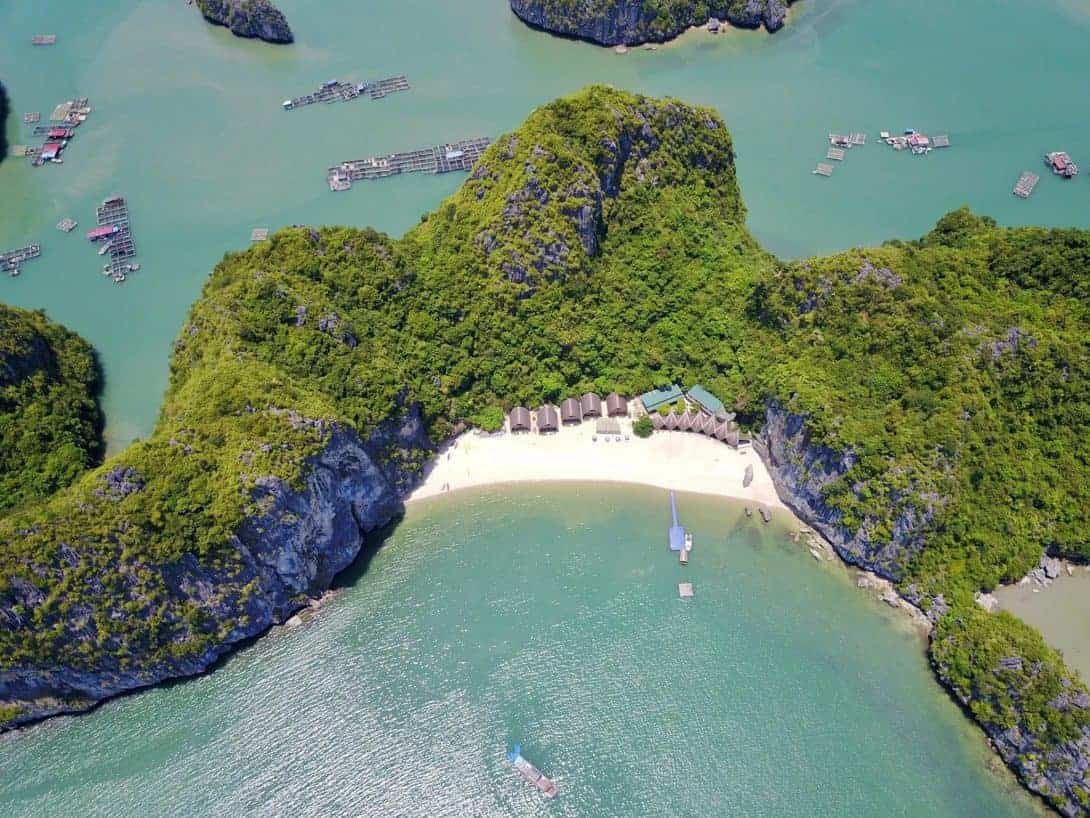 Castaways Island Seen From Above