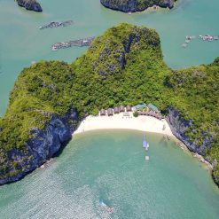 Castaways Island Seen From Above