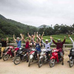 Motorbiking Mai Chau Valley, Vietnam.