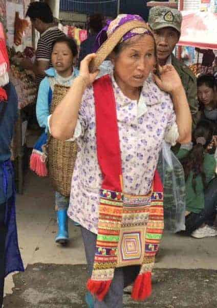 A local Dai woman, Xishuangbanna.