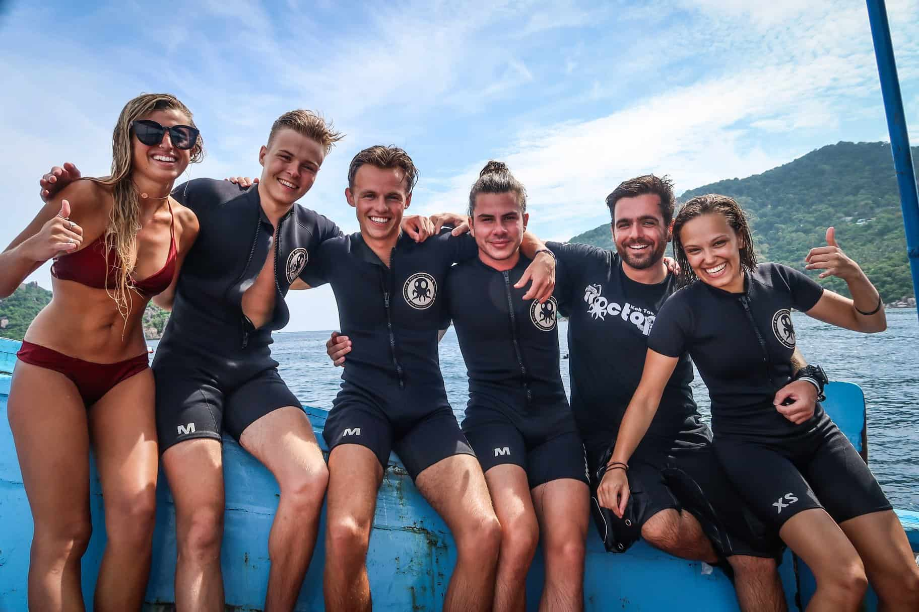 Diving in Koh Tao with Roctopus Dive