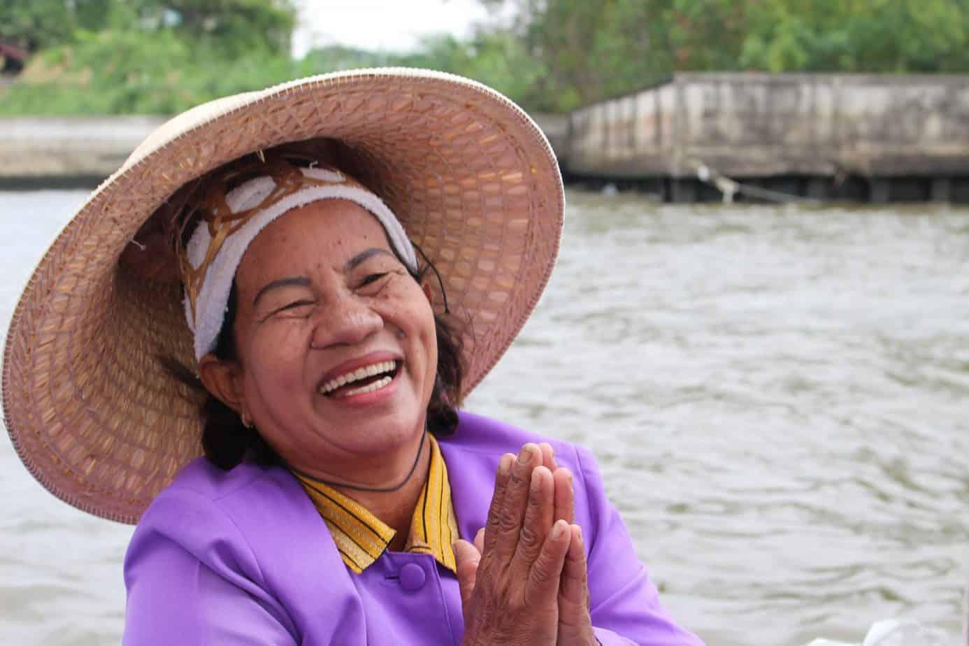Thai lady in Bangkok, Thailand
