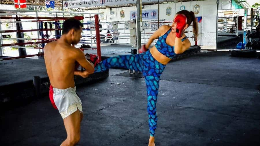 Muay Thai Boxing in Koh Phangan.
