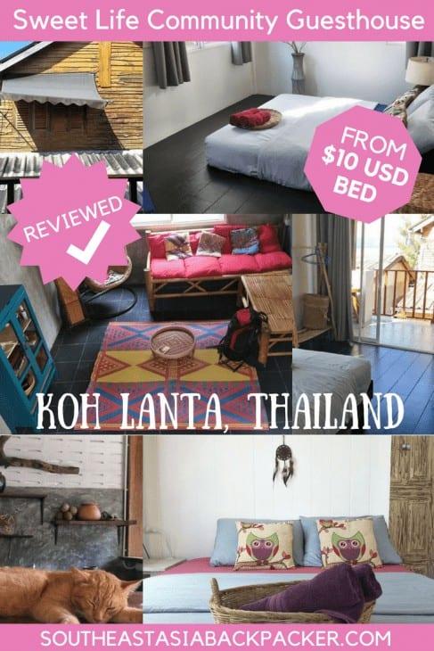 Sweet Life Community Guesthouse, Koh Lanta, Thailand