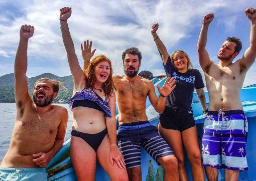 Happy Roctopus Divers!