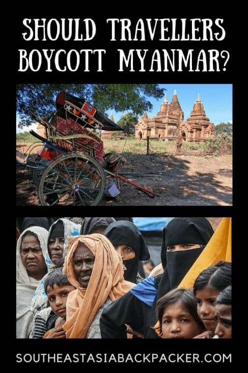 Should Travellers Boycott Myanmar