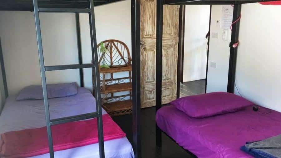 Dormitory at Sweet Life Community Guesthouse, Koh Lanta, Thailand.