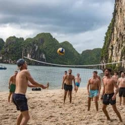 Volleyball On The Beach - Castaways
