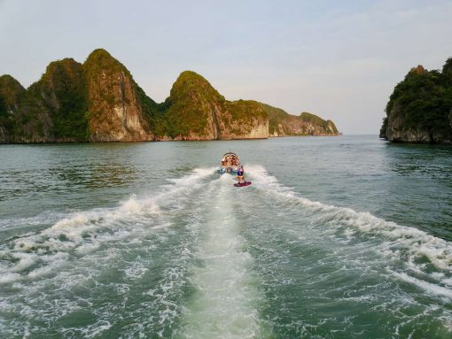 Wake Boarding Off Castaways Island Halong Bay