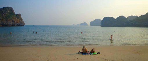 Cat Ba Island Beach, Vietnam