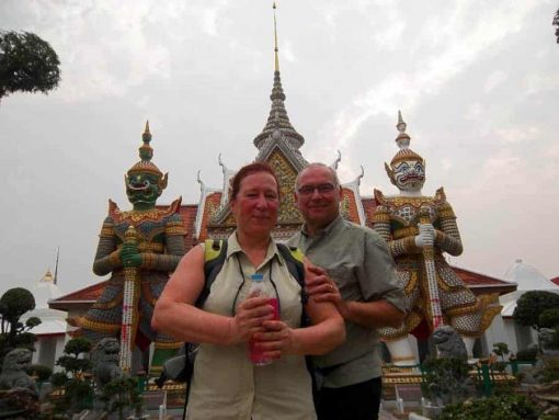 At the Bangkok Grand Palace