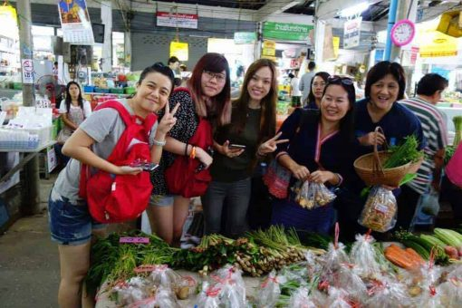 At the market - Lanna Cooking Experience, Chiang Mai