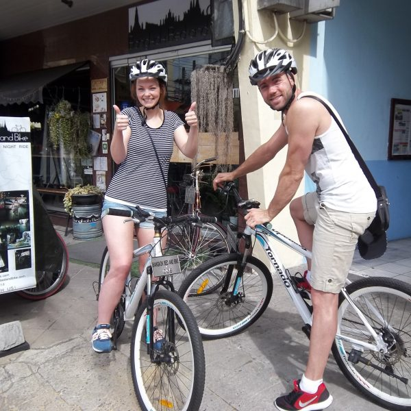 At Bangkok Bed and Bike - Bike Tours
