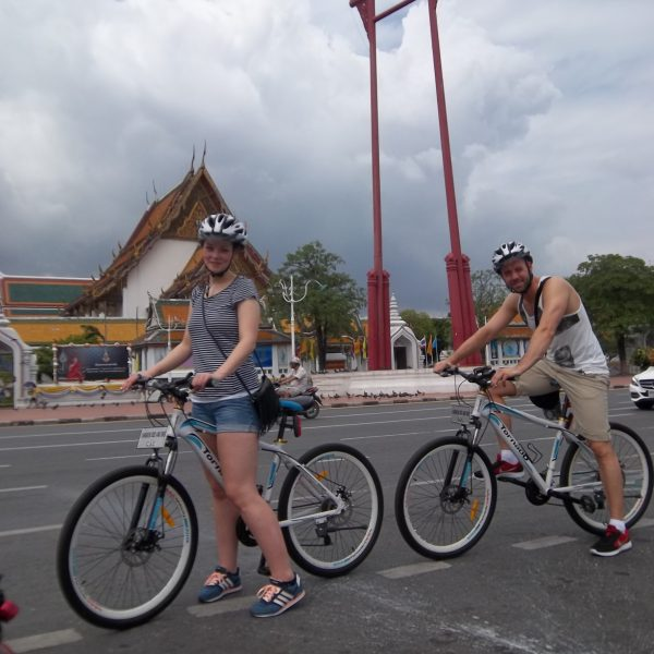 The Giant Swing - Bangkok Bike Tours