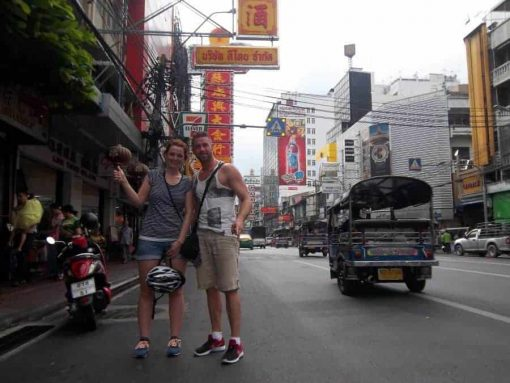 Chinatown - Bangkok Bike Tours
