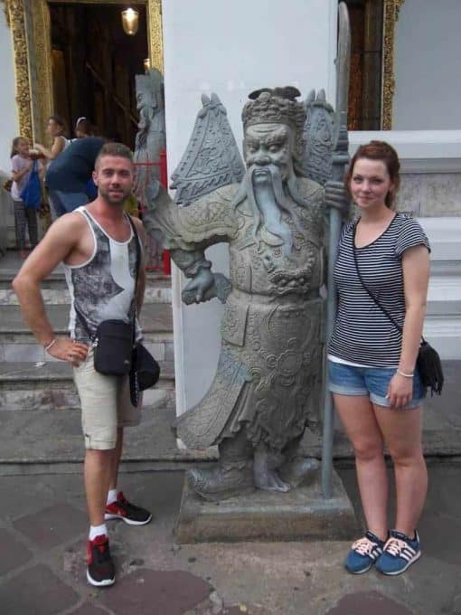 Statue Bangkok - Bangkok Bike Tours
