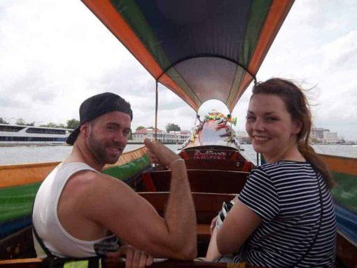 Boat trip Bangkok Bike Tours