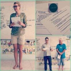 Practise Teaching on TEFL Course in Koh Samui