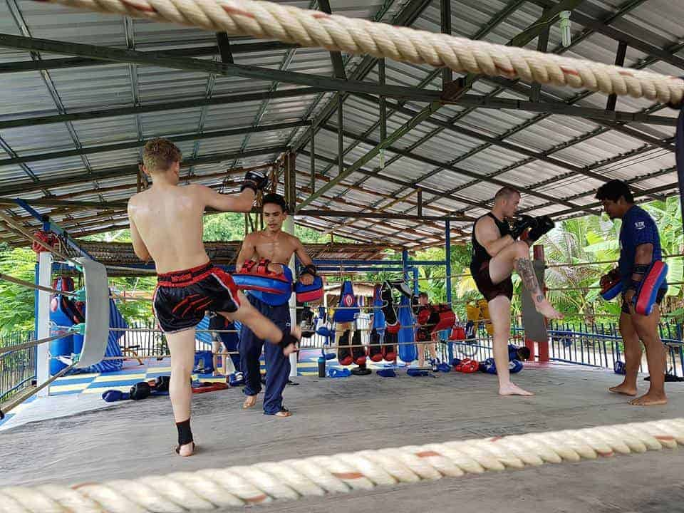 Muay Thai Training in Phetchabun, Thailand