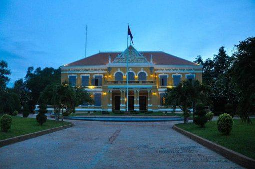 Battambang Provincial Hall, Cambodia.