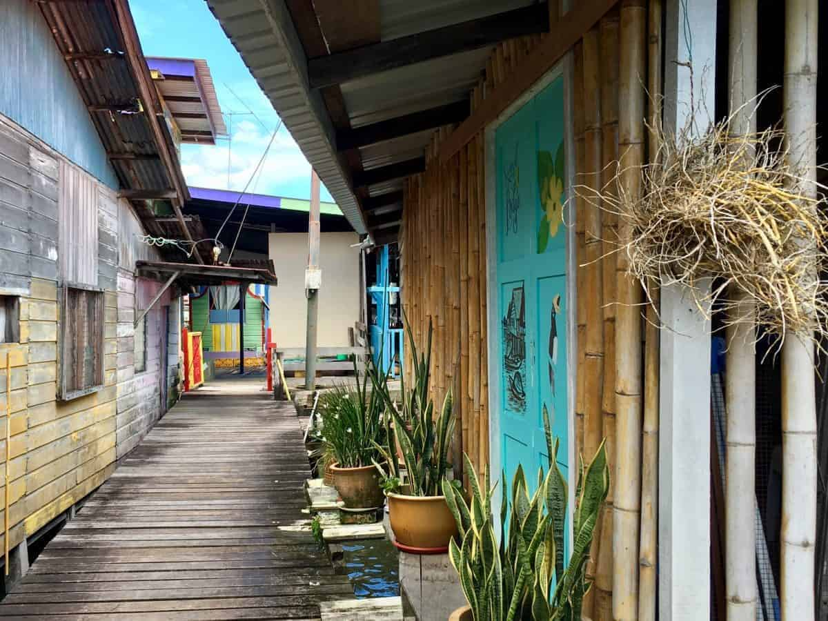 Explore the maze of Kampong Ayer, Brunei's 'water village'.