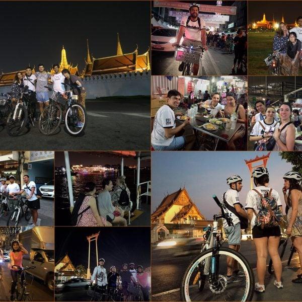 Bangkok Old Town Night Ride