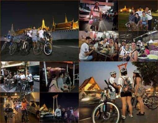 Bangkok Old Town Night Ride