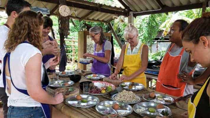 Cooking With Mon cooking class in Lanta Old Town.