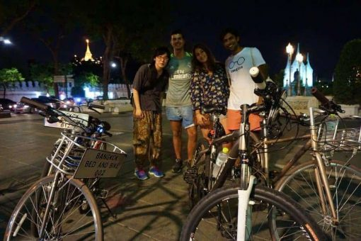 Bangkok Cycling Tour - Night Ride