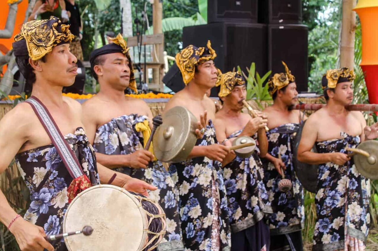 Local Music - Bali Spirit Festival.