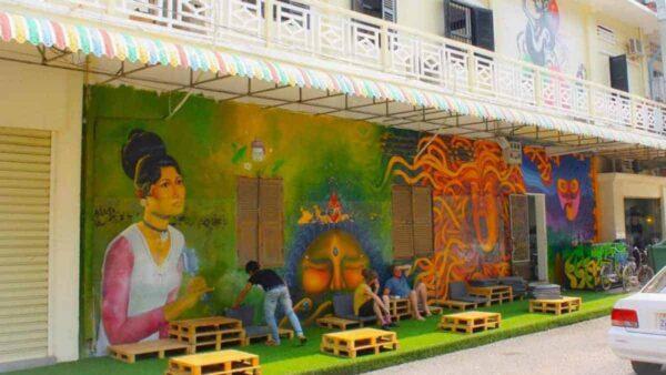 French Colonial Building Battambang.