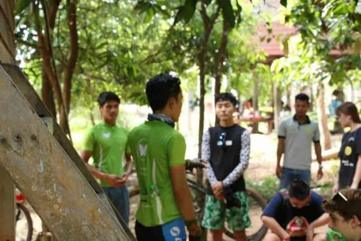 Butterfly Tours Guide Cambodian Cycle Trip