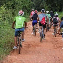 Cycling in the Siem Reap Countryside Cambodia