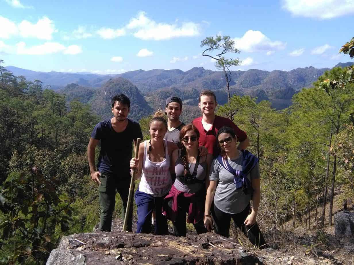 Nature and Waterfall Trek in Pai.