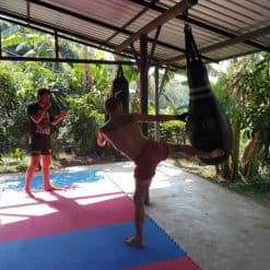Muay Thai Training in Pai, Thailand