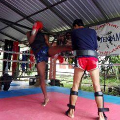 Muay Thai Training - Pai, Thailand