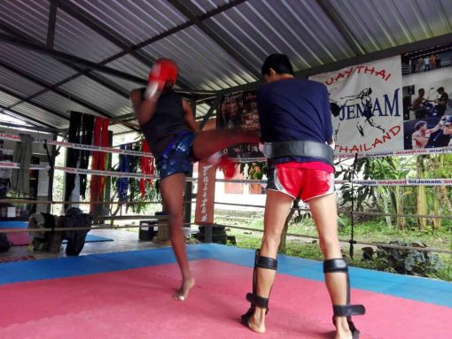 Muay Thai Training - Pai, Thailand