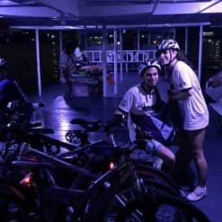 Bangkok Cycling Tour - Night Ride - Ferry ride